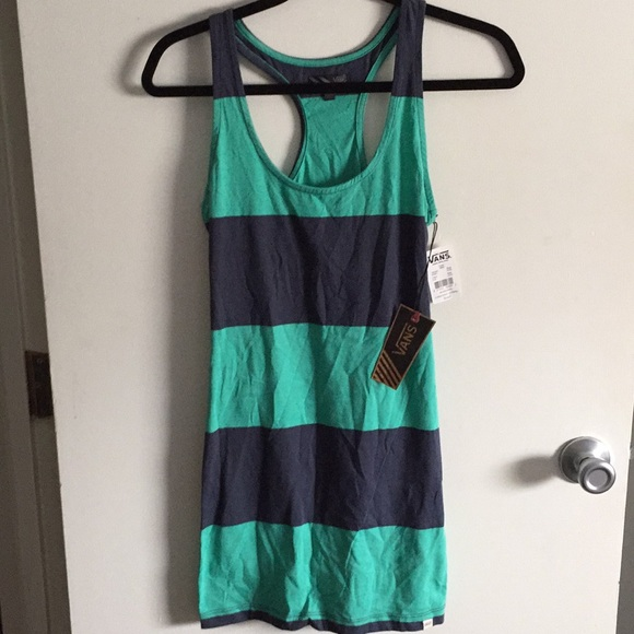83440efdcdbe94 NWT Vans muscle tank dress. Size S